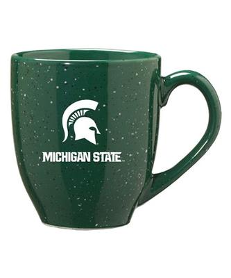 Michigan State Speckled Bistro Mug 16oz