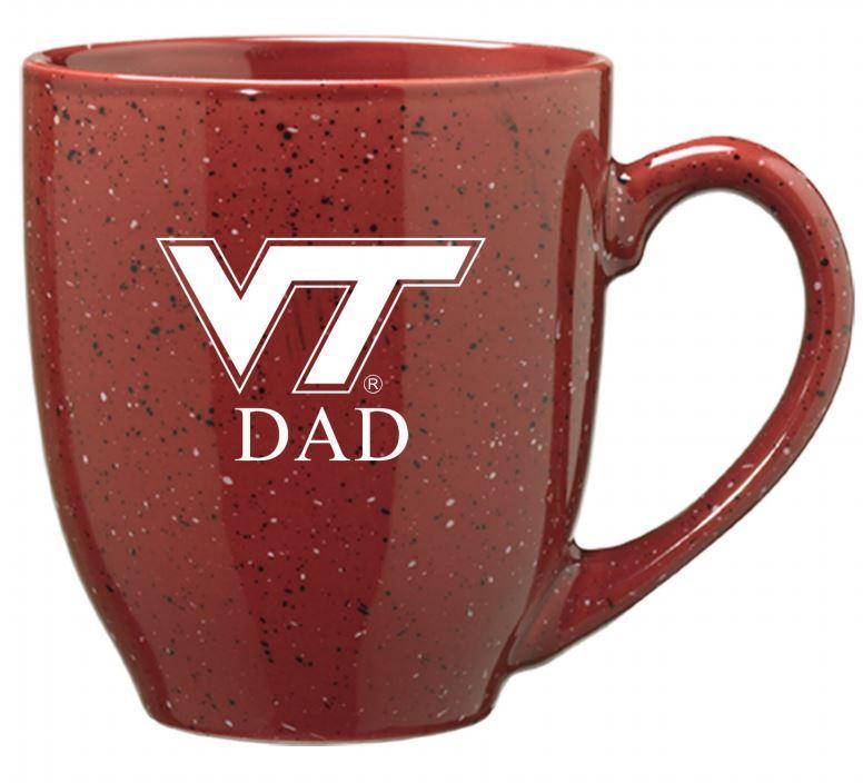 Virginia Tech Dad 16oz Bistro Mug