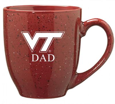 Virginia Tech Dad 16oz Bistro Mug