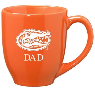 Florida Dad 16oz Bistro Mug ORANGE