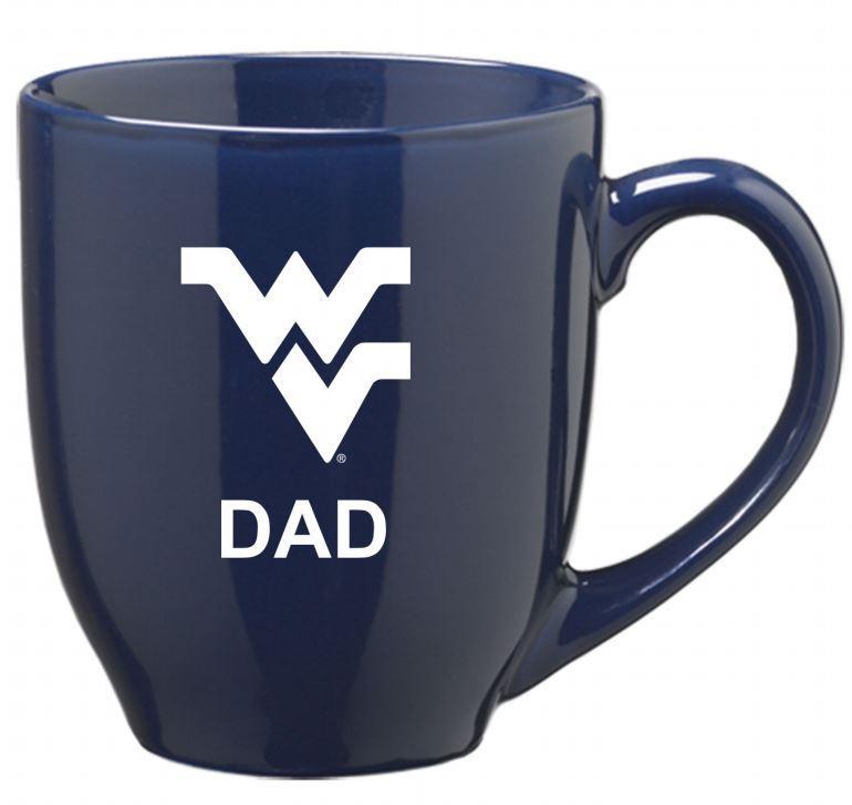 West Virginia Dad 16oz Bistro Mug