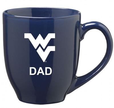 West Virginia Dad 16oz Bistro Mug
