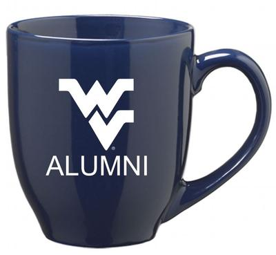 West Virginia Alumni 16oz Bistro Mug