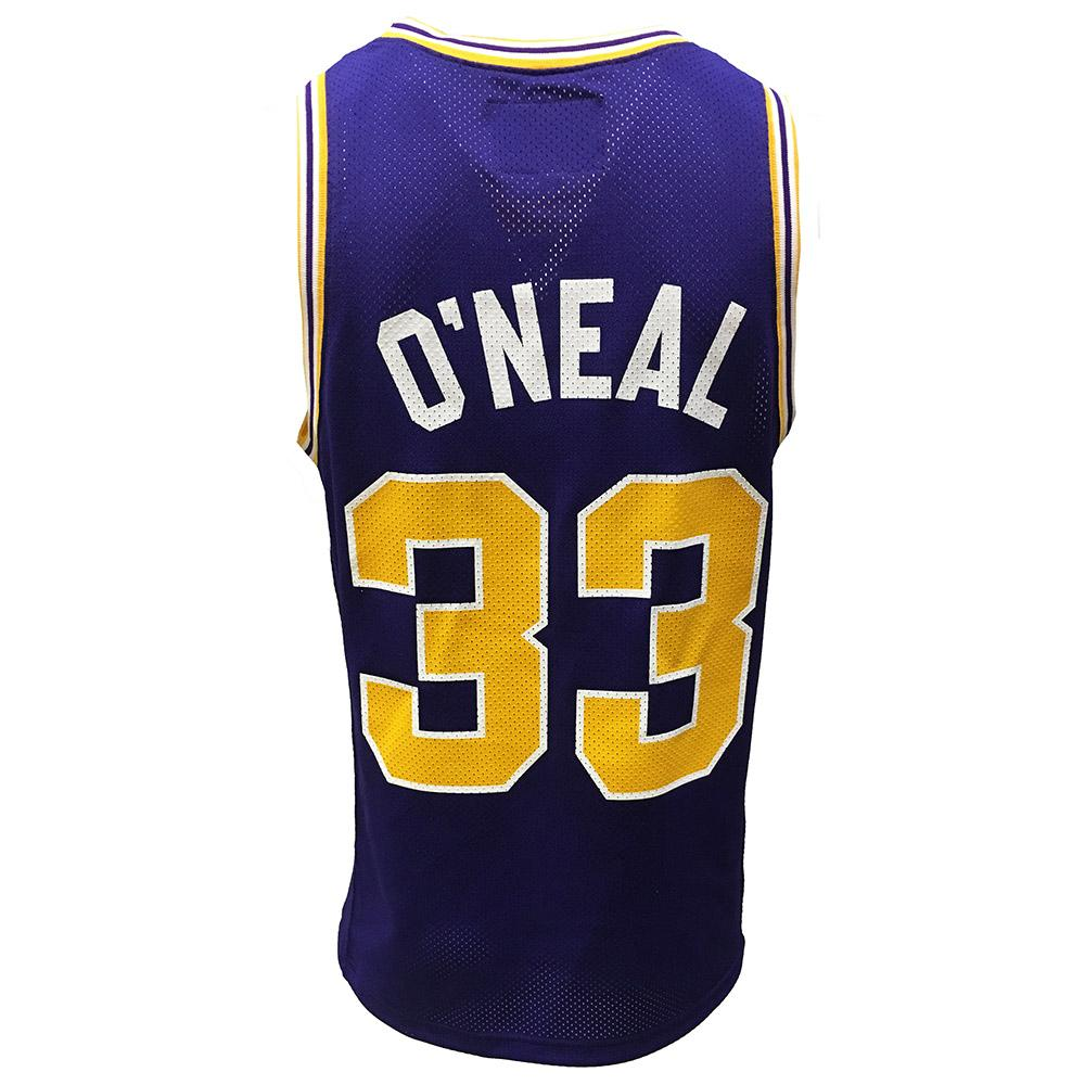 wholesale dealer ee263 6de3c LSU - LSU Retro Brand Shaquille O'Neal Basketball Jersey ...