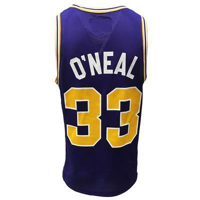 LSU Retro Brand Shaquille O'Neal Basketball Jersey