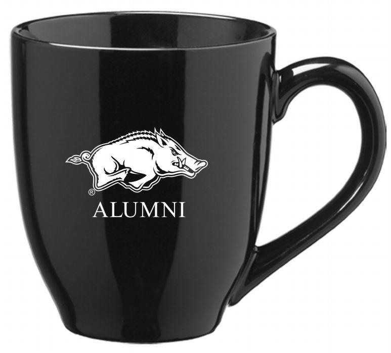 Arkansas Alumni 16oz Bistro Mug