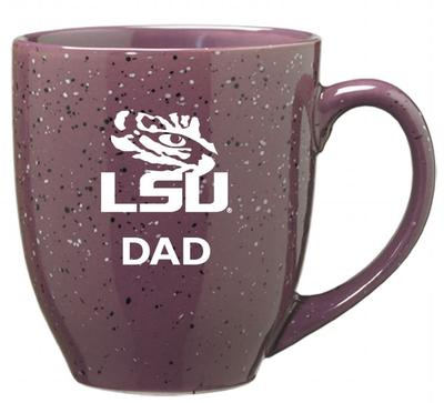 LSU Dad 16oz Bistro Mug