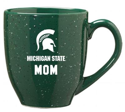 Michigan State Mom 16oz Bistro Mug