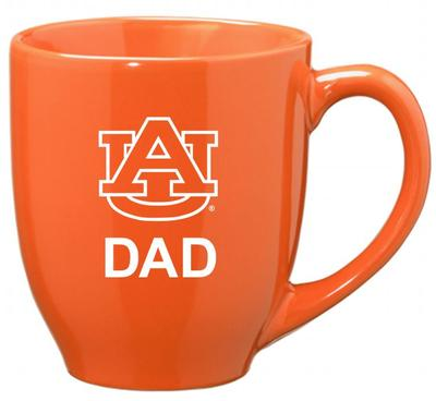Auburn Dad 16oz Bistro Mug ORANGE