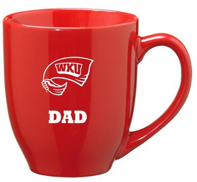 Western Kentucky Dad 16oz Bistro Mug