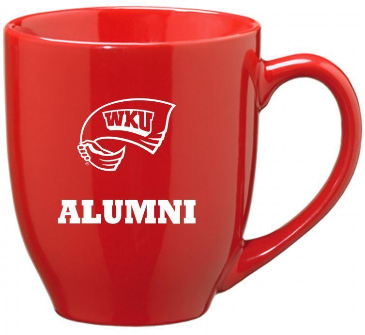 Western Kentucky Alumni 16oz Bistro Mug