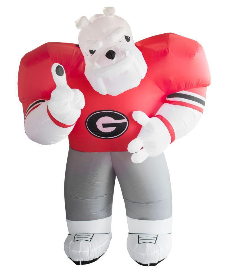 Georgia Inflatable Hairy Dog Mascot