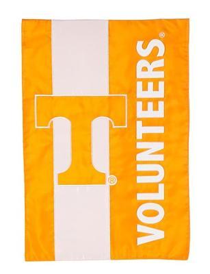 Tennessee Volunteers Striped Garden Flag