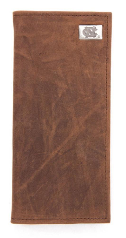 Unc Leather Secretary Wallet