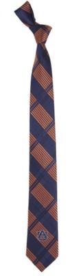 Auburn Skinny Plaid Tie