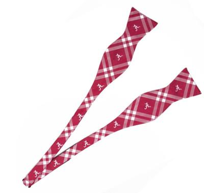 Alabama Eagle Wings Bow Tie Self Tie