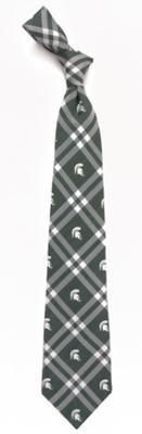 Michigan State Men's Woven Rhodes Tie