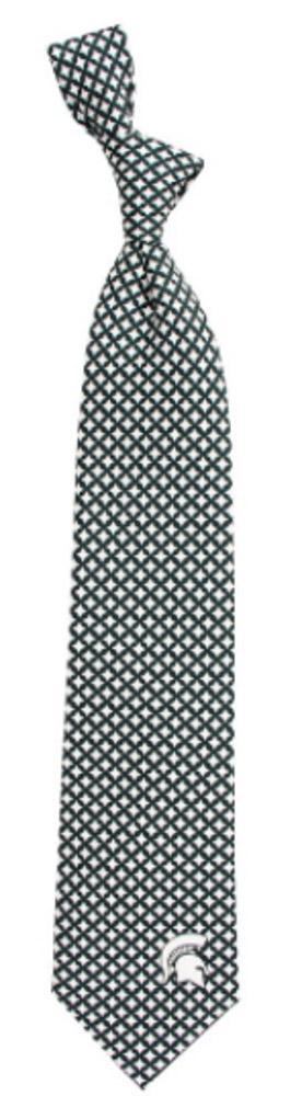 Michigan State Diamante Tie