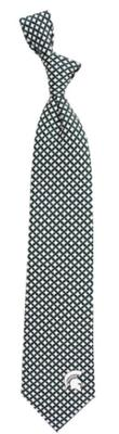 Michigan State Diamante Tie