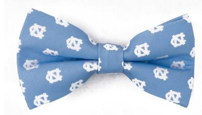 UNC Men's Repeat Logo Bowtie