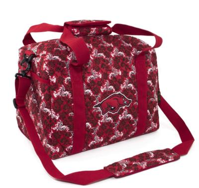 Arkansas Mini Duffle Bag Bloom Pattern