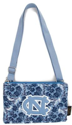 UNC Eagle Wings Bloom Crossbody Purse