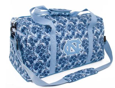 UNC Eagle Wings Bloom Large Duffle Bag