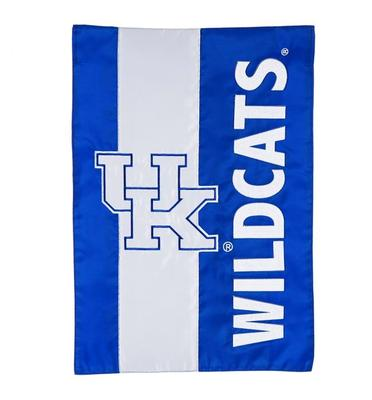 Kentucky Wildcats Striped House Flag