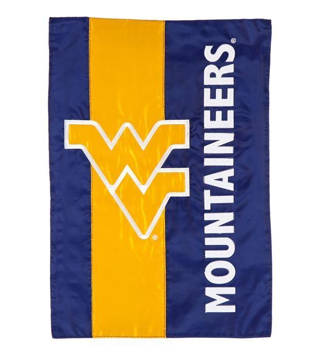 West Virginia Striped Garden Flag