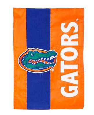Florida Gators Striped Garden Flag