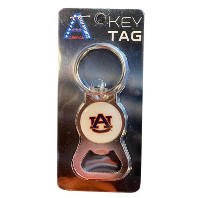 Auburn Key Ring Bottle Opener