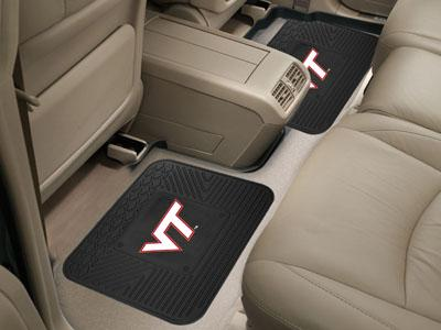 Virginia Tech Vinyl Utility Floor Mats (2pk)