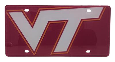 Virginia Tech Mega Logo License Plate