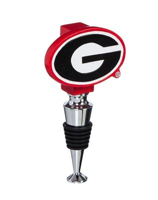 Georgia Bulldogs Bottle Stopper