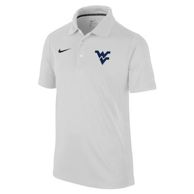 West Virginia Nike Youth Dri-Fit Varsity Polo