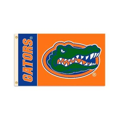 Florida Gator Head House Flag 3' X 5'