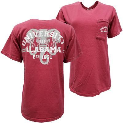 Alabama Elephant Arch Comfort Colors Tee
