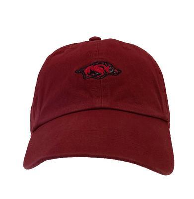 Arkansas 3D Mini Logo Cotton Hat