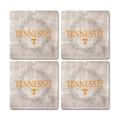 Tennessee Legacy Laurels Coaster Set - 4 Pack