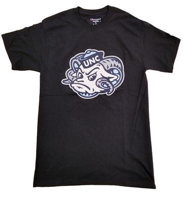 UNC Rameses Head Logo Tee BLACK