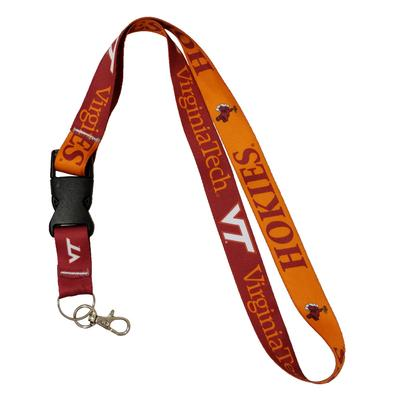 Virginia Tech Lanyard W/ Detachable Buckle