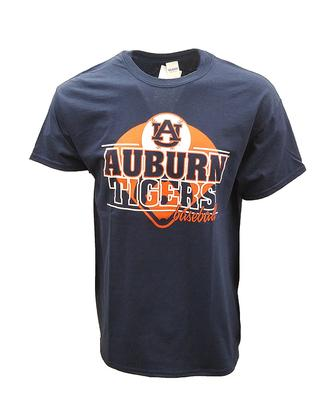 Auburn Baseball Double Stack Tee