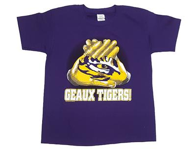 LSU Youth Gloves Up T-Shirt