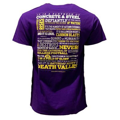 LSU Death Valley Pantheon Tee