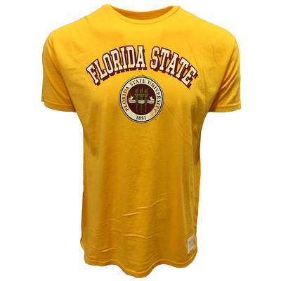 Florida State Retro Brand Arch Seal Vintage Retro Brand Tee