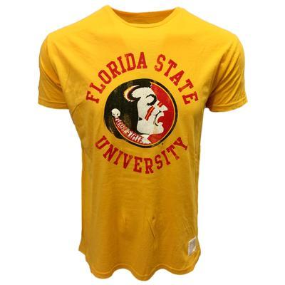 Florida State Retro Brand Vintage Seminole Head Tee