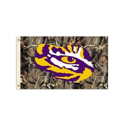LSU Camouflage House Flag 3'x5'