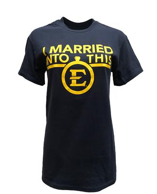 ETSU I Married Into This T-Shirt