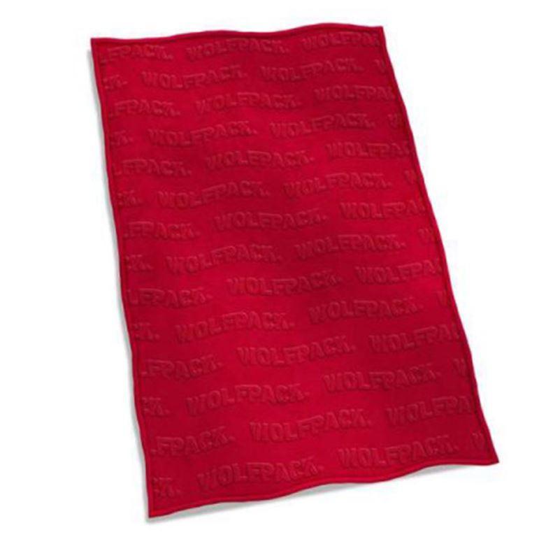 Nc State Velvet Plush Blanket