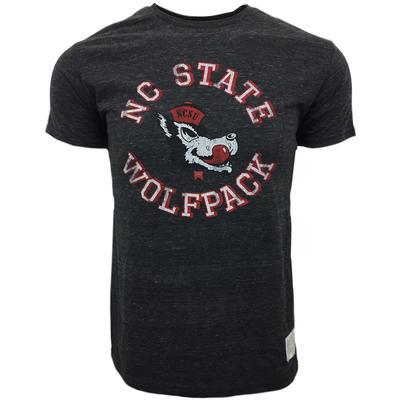 NC State Retro Wolf Streaky Tee